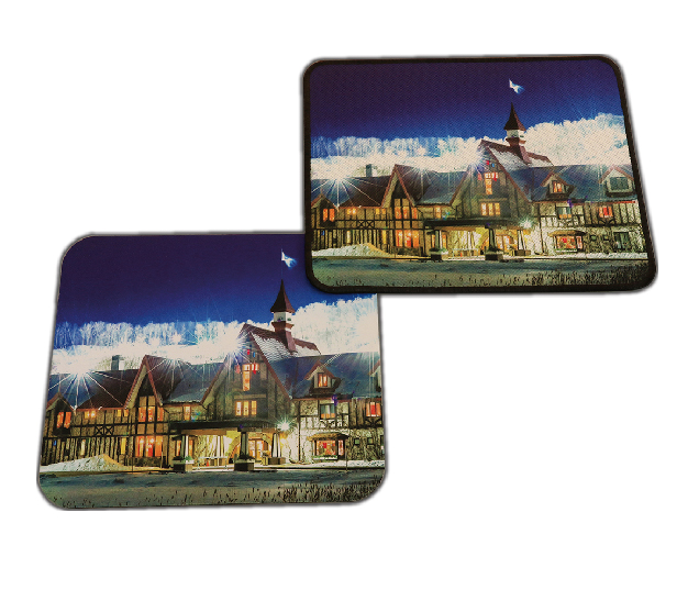 B101S Sublimated Fabric/Nature Rubber Pad